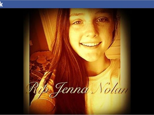 Jenna Nolan, a 14-year-old eighth-grader at Mahopac Middle School, died in an apparent drowning in Lake Mahopac on Friday.