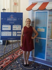 Laney Hughes pitched her business at America's Small Business Summit in Washington D.C. on June 13, 2016.
