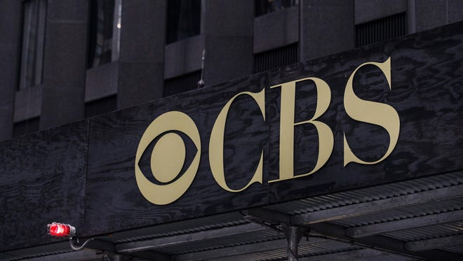 The CBS headquarters seen Aug. 2 in New York City.