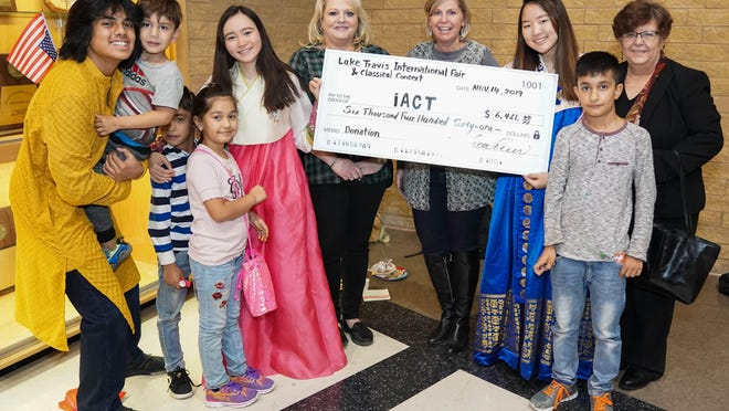 The Lake Travis International Fair in November raised more than $6,000 for the Interfaith Action of Central Texas nonprofit.
