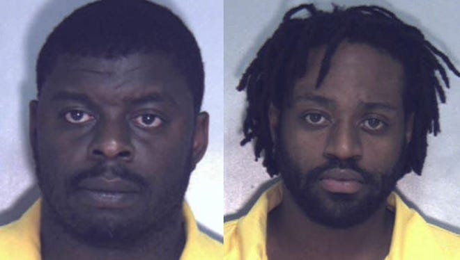Anthony Cobb and Brandon Maze, both of Waynesboro, are charged with attempted murder and other crimes in connection with shootings in April 2016 in Waynesboro.