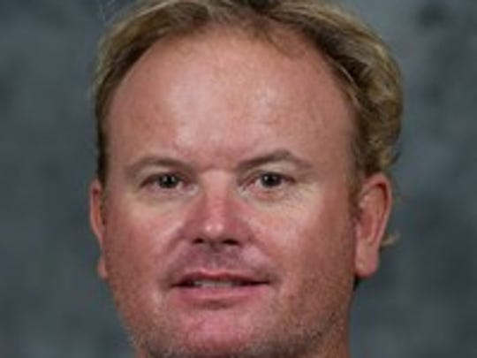 UL tennis coach Mark Jeffrey