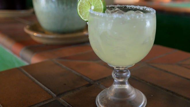 TaMolly's bartender Megan Kittrell's Margarita.