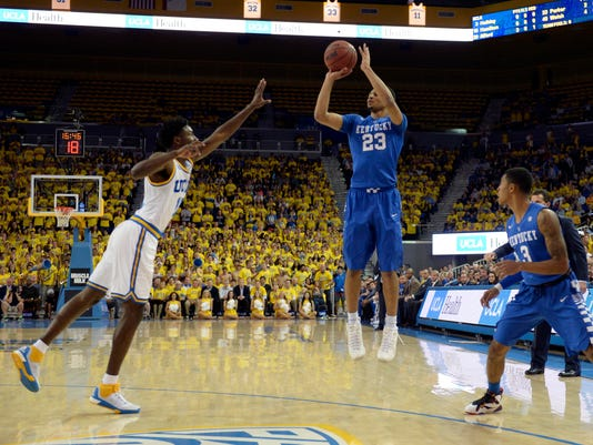 NCAA Basketball: Kentucky at UCLA