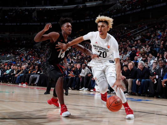 High School Basketball: 40th Annual McDonald's All-American Games