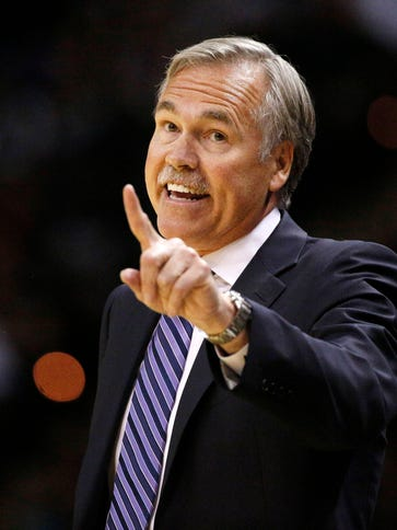Mike D'Antoni last coached the Lakers.