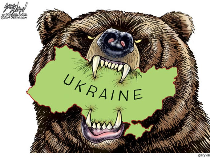 Russian troops invaded Crimea over the weekend. Will they devour the rest of Ukraine?