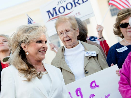 While some supporters say they do not believe the women who have accused Alabama Senate candidate Roy Moore, others have said they would vote for Moore even if the accusations are true, in order to maintain a Republican majority.