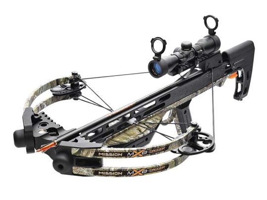Mission Archery crossbows can fire an arrow unexpectedly without the trigger being pulled, posing an injury hazard to the user and to bystanders.