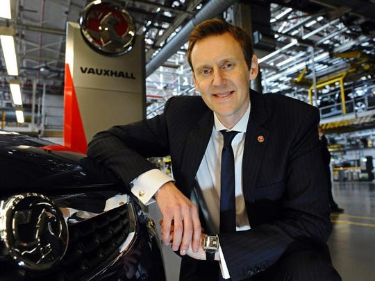 Duncan Aldred is the global vice president of Buick GMC.