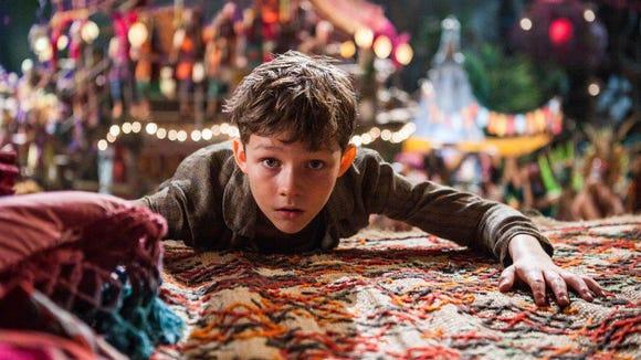 "Levi Miller appears in in a scene from ""Pan."""