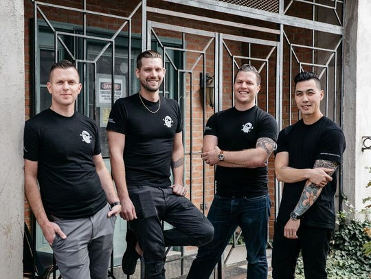 The Four Man Ladder Management hospitality group is