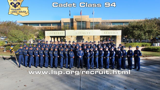 LSP graduated 57 cadets from Class #94 Thursday morning.