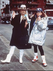"""Joanna Lumley (left) and   Jennifer Saunders have been living the hedonistic lives of Patsy and Eddy since """"Absolutely Fabulous"""" premiered in 1992."""