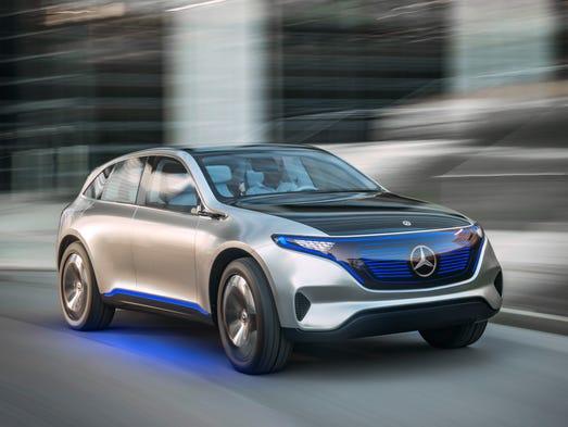 Mercedes Benz Of Des Moines >> Mercedes-Benz, Volkswagen reveal electric cars at Paris Motor Show