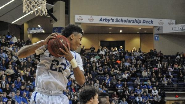 Dwayne Sutton averaged 12 points and 7.7 rebounds for uNC Asheville this past season.