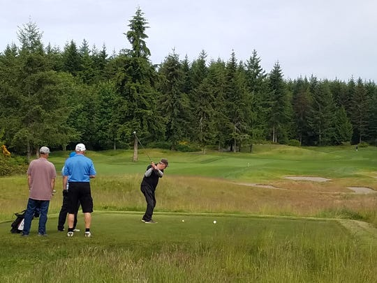 White Horse Golf Club in Kingston is hosting the Suquamish