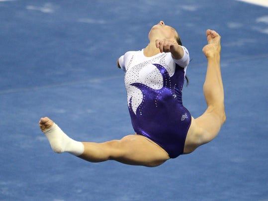 NCAA Gymnastics: Gymnastics-Team Semifinals