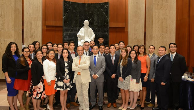 Tri-Caucus reception honoring 2016 summer congressional interns at the U.S. Library of Congress on Wednesday, June 15.