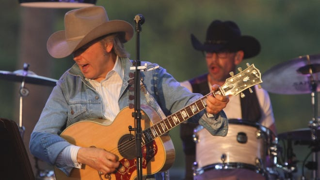 Dwight Yoakam, seen here at his second Stagecoach appearance in 2013, will perform Saturday at Spotlight 29. Dwight Yoakam performs at Stagecoach, 2013.