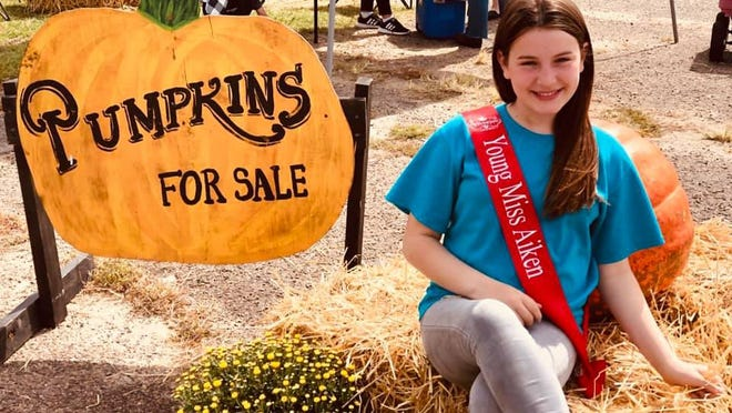 Addison Fail has organized the Pumpkin Patch for Purpose for several years as part of her community service.