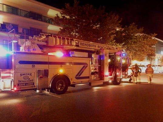 Rehoboth Beach hotel fire