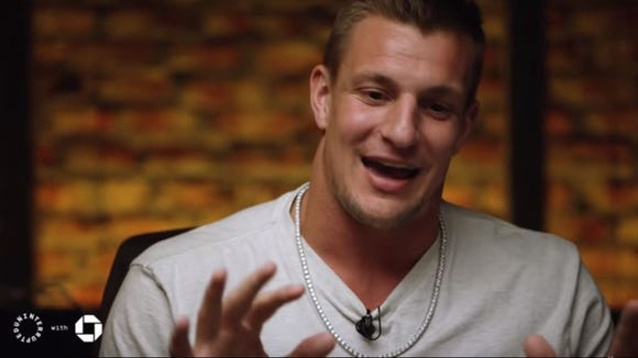 Rob Gronkowski says his first luxury buy was a chain: 'I love this puppy'