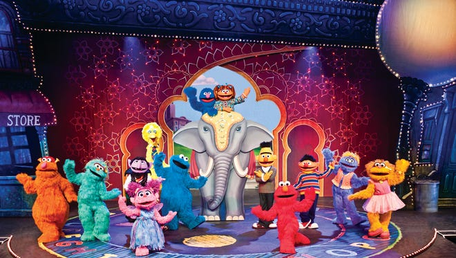"Grover, Abby Cadabby, and their Sesame Street friends welcome Chamki, Grover's friend from India, to Sesame Street. Sesame Street Live ""Make a New Friend"" will visit the Abraham Chavez Theatre from Friday through Sunday."