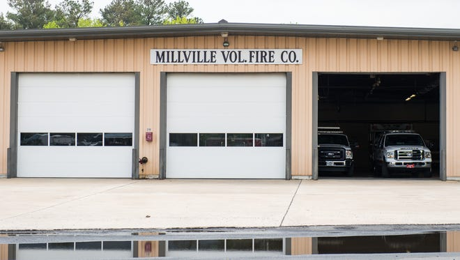 The Millville Fire Department on Atlantic Avenue in Millville, DE.