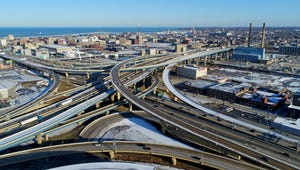 Marquette Interchange in downtown Milwaukee