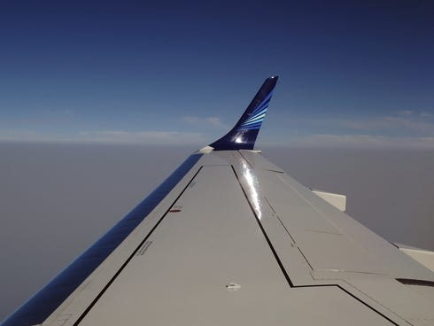 Pilots execute takeoffs, landings and in-flight turns using a combination of flaps, ailerons and spoilers.