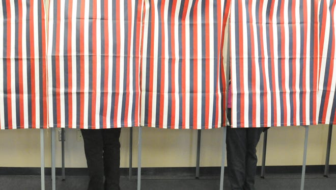 Central Jersey voters will go to the polls on Nov. 6 to decide local races.