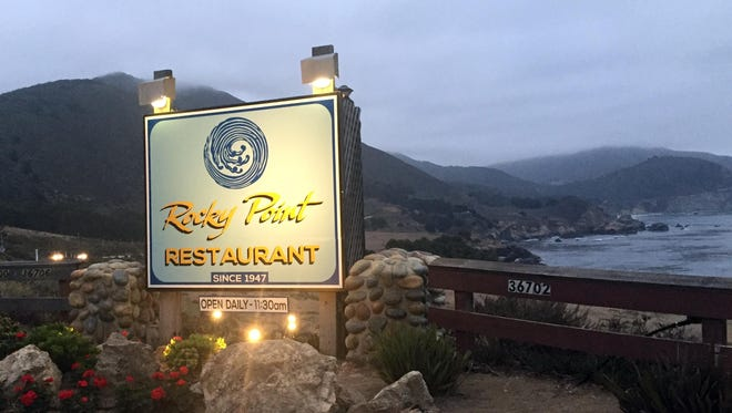 Rocky Point Restaurant is one important stop on California's scenic Highway One.