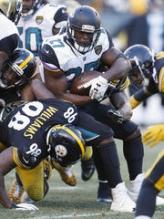The Jaguars are reportedly accepting trade offers for running back Leonard Fournette.