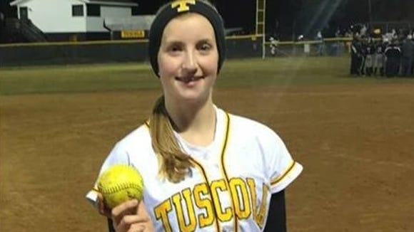 Tuscola rising junior Melody Hannah has committed to play college softball for North Greenville (S.C.).
