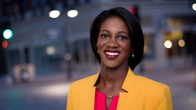 Emmy Victor, reporter for KCCI in Des Moines.