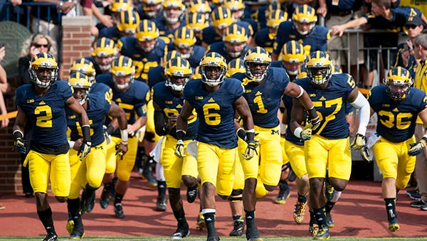Michigan's contract with Adidas is worth $8.2 million annually.
