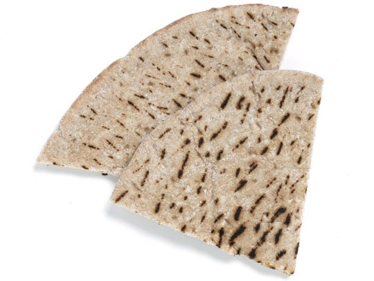 Trader Joe's Whole Wheat Pita Bread.
