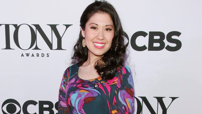 Ruthie Ann Miles in April 2015 at the Tony Awards Meet The Nominees press conference in New York.