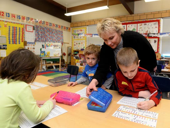 Ruth Uecker, assistant superintendent for K-6 in Great