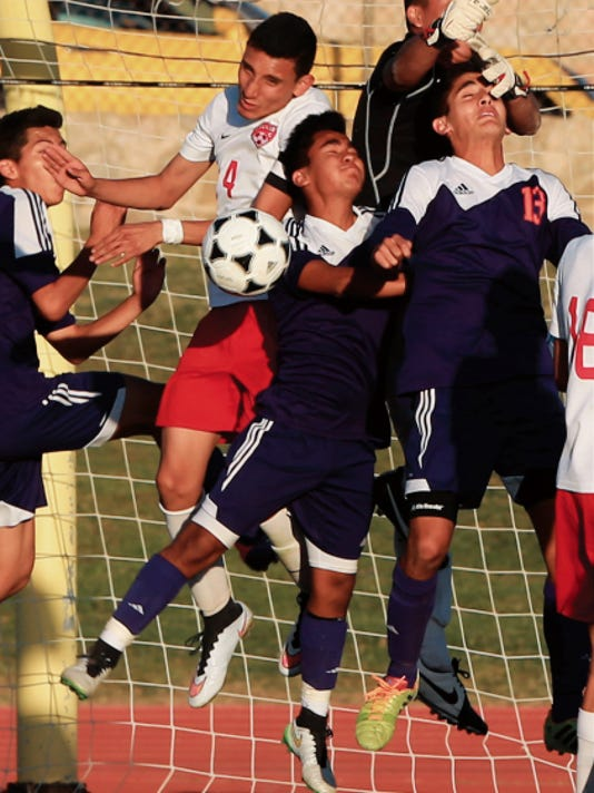 8ec4b59700d6 High school boys soccer  Bel Air holds off Eastlake