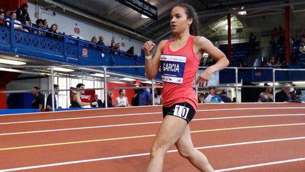 North Rockland alumnus Maria Garcia competes in the