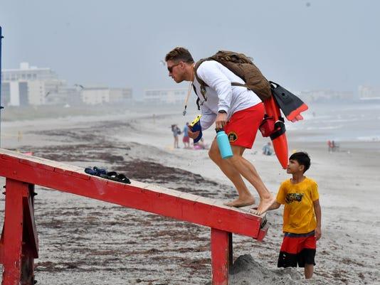 Rain in Cocoa Beach