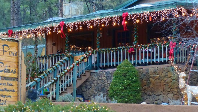 Most lodges and cabins in Upper Canyon were booked solid during the holidays in December.