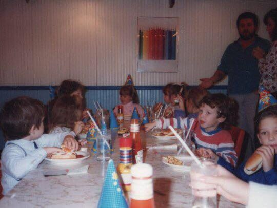 Many a birthday party, like this one for Corey Kochis,