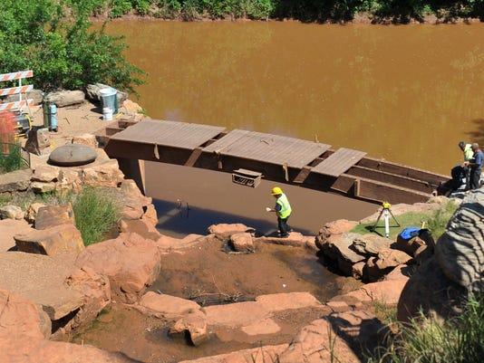 Falls bridge replacement