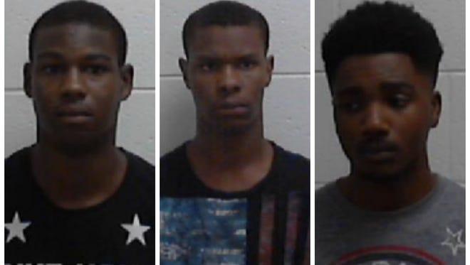 Darius Williams, Demario Smith, Marquez Lindsey