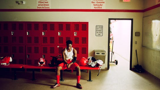 A meditative stillness comes over the Immokalee Indians'