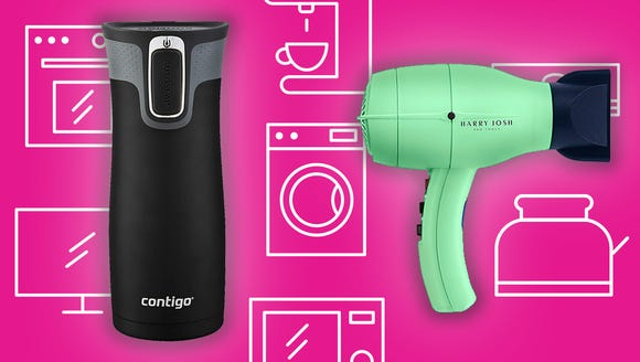 Everyone's going nuts for travel mugs and hair dryers