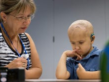 NO GIVING UP: Ithaca boy's fight for life inspires